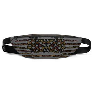 Fanny Pack. DTG printed.From CA USA.